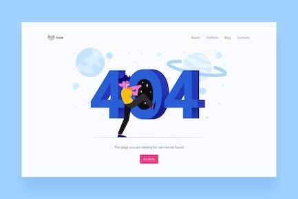 404 Page Illustrations