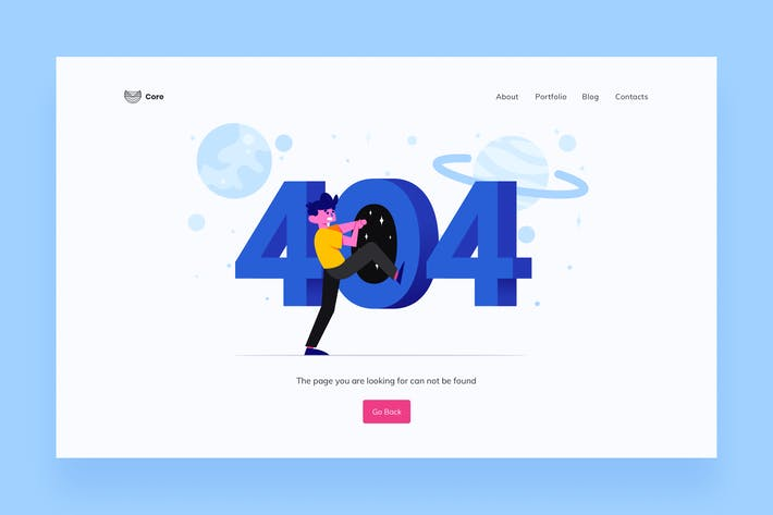 Cover Image For 404 Page Illustrations