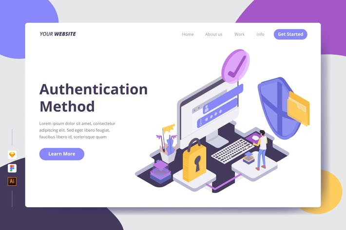 Thumbnail for Authentication Method - Landing Page