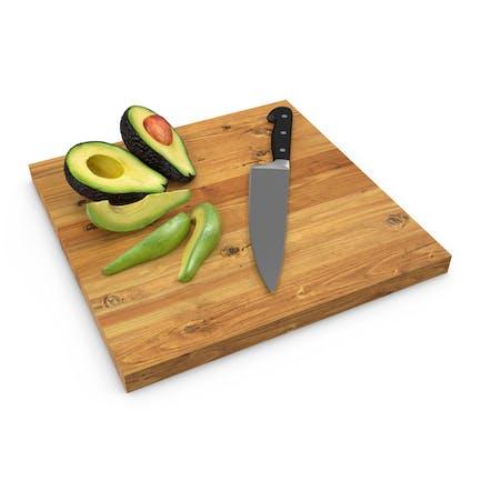 Schneiden Avocado