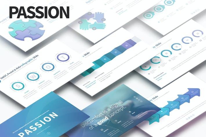 Thumbnail for PASSION - Multipurpose PowerPoint Presentation
