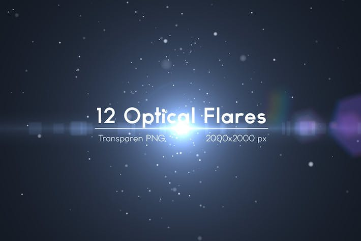Cover Image For 12 Optical Flares