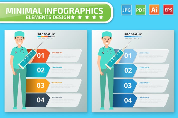 Thumbnail for Infographies du médecin