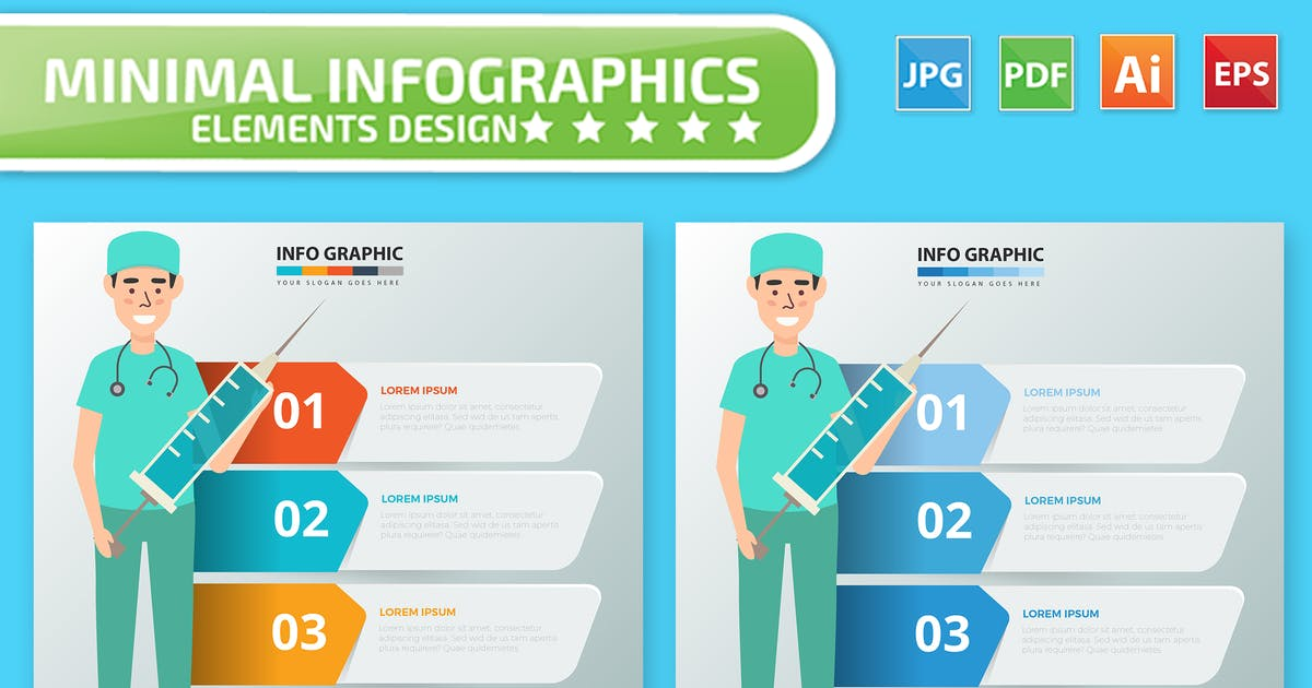 Download Doctor Infographics by mamanamsai