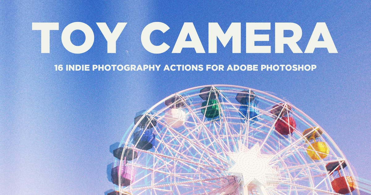 Download Toy Camera Photography Actions for Adobe Photoshop by guerillacraft
