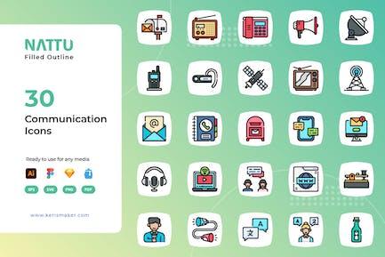 Nattu - Communication Icons