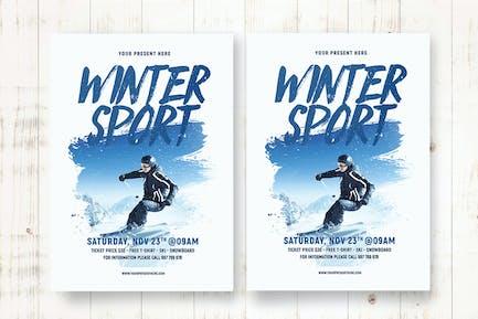 Winter Sport Flyer