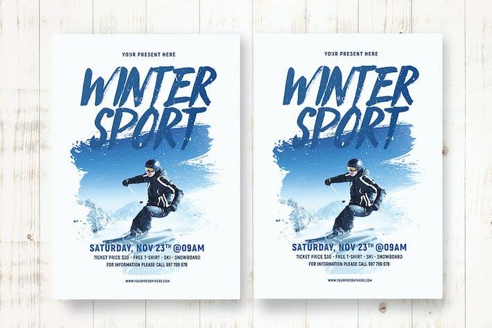 Thumbnail for Winter Sport Flyer