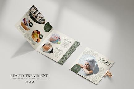 Brochure Square Beauty Treatment