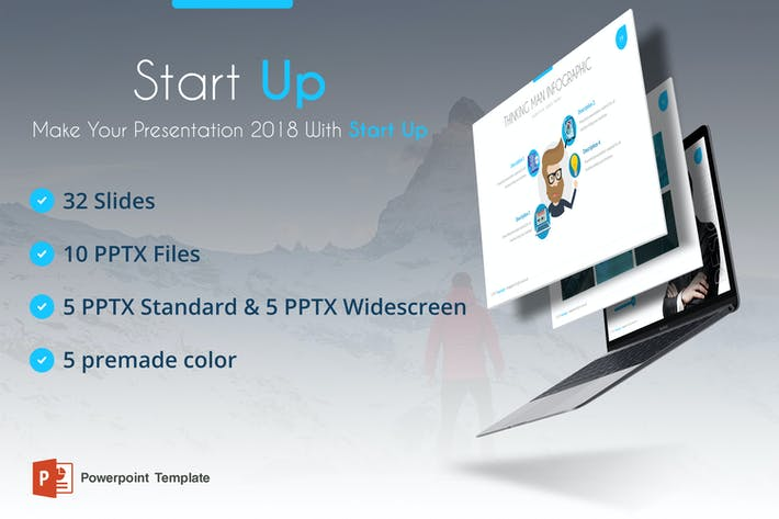 Thumbnail for Start Up Powerpoint Template
