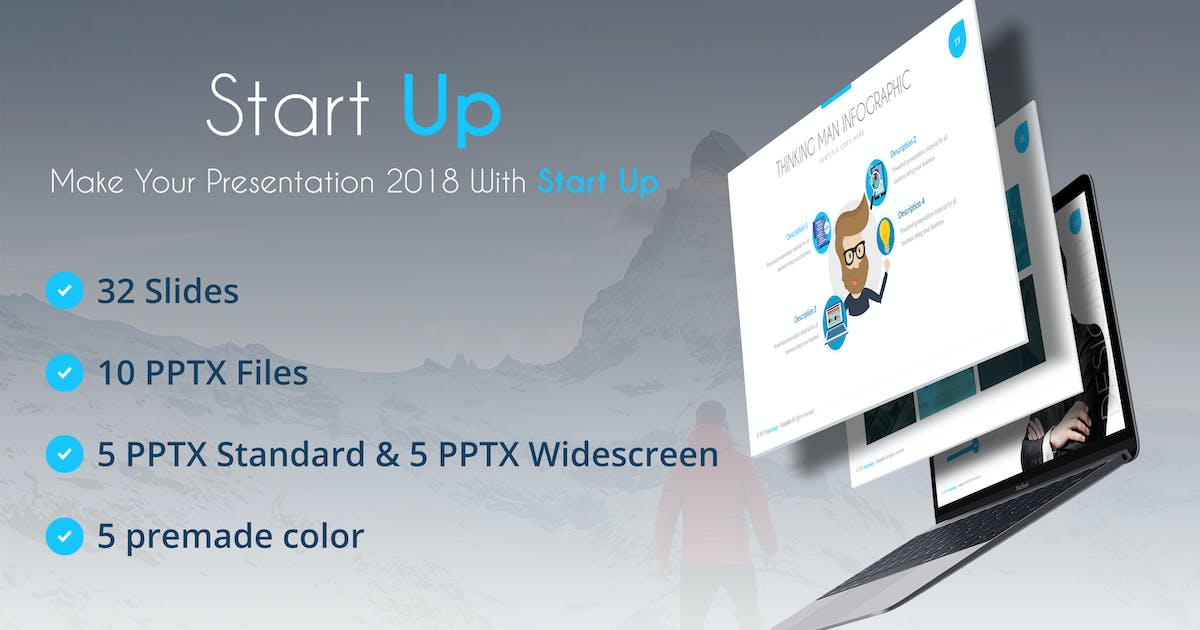 Start Up Powerpoint Template by Unknow