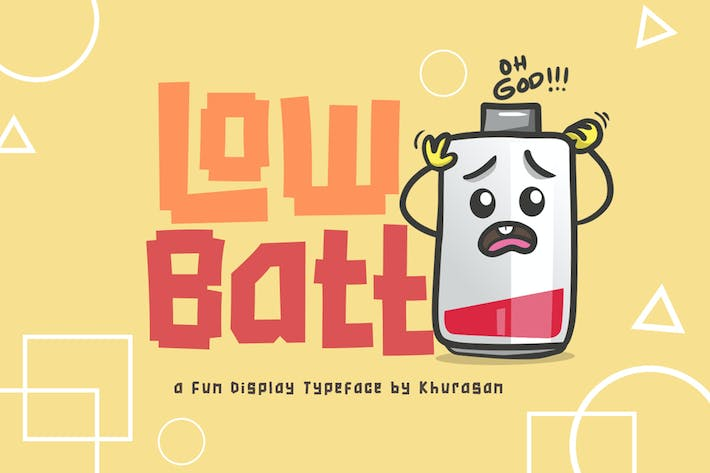 Thumbnail for Low Batt Font