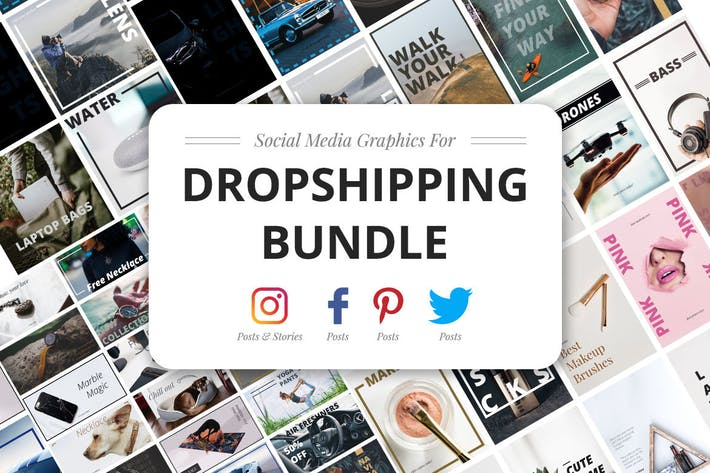 Thumbnail for Dropshipping Graphics Bundle