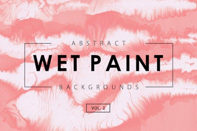 Wet Paint Backgrounds Vol. 2