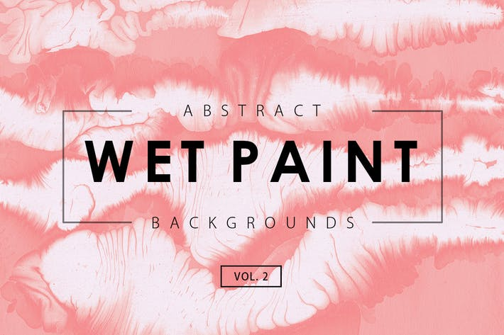 Thumbnail for Wet Paint Backgrounds Vol. 2