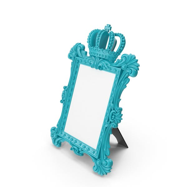 Thumbnail for Baroque Photo Frame Blue Green