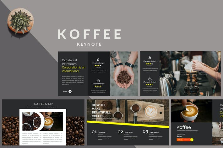 Thumbnail for Koffee Corporate - beautiful creative Template