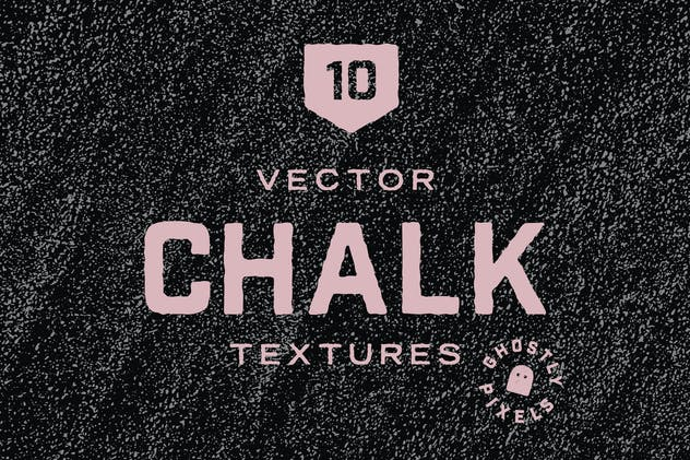 Vector Chalk Textures - product preview 0