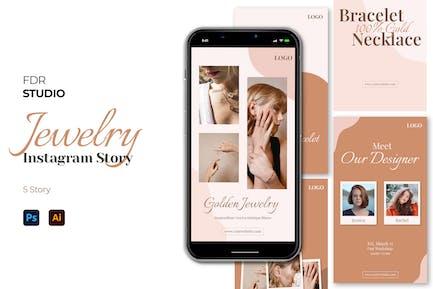 Jewelry Instagram Story Pack