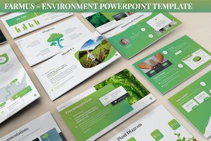 Farmus - Environment Powerpoint Template