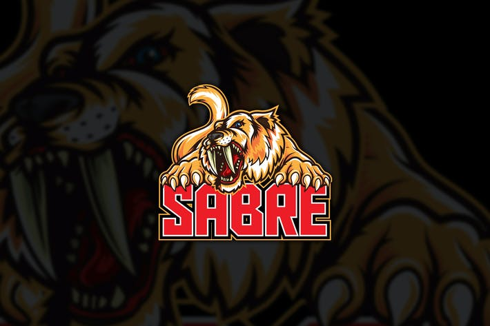 Thumbnail for Sabertooth Sport Vector Logo Mascot