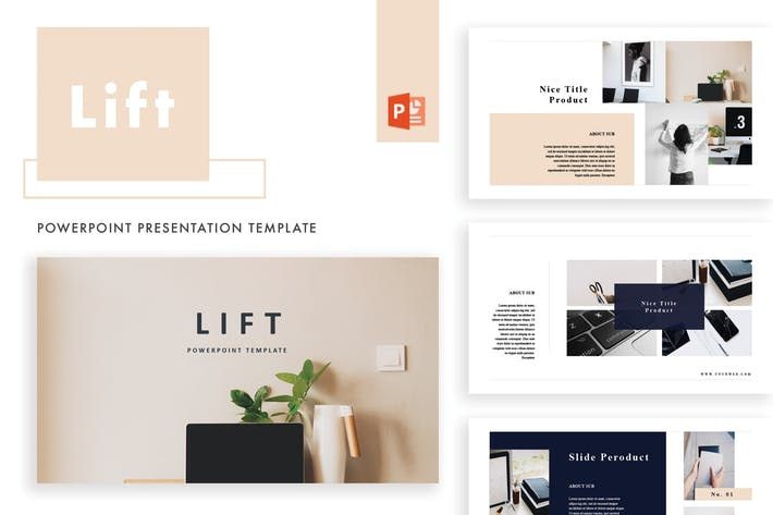 Thumbnail for Lift Powerpoint Template