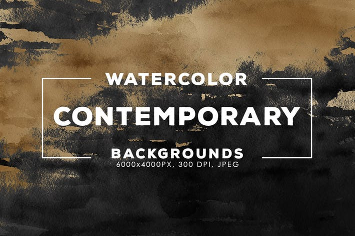 Thumbnail for 30 Contemporary Watercolor Backgrounds