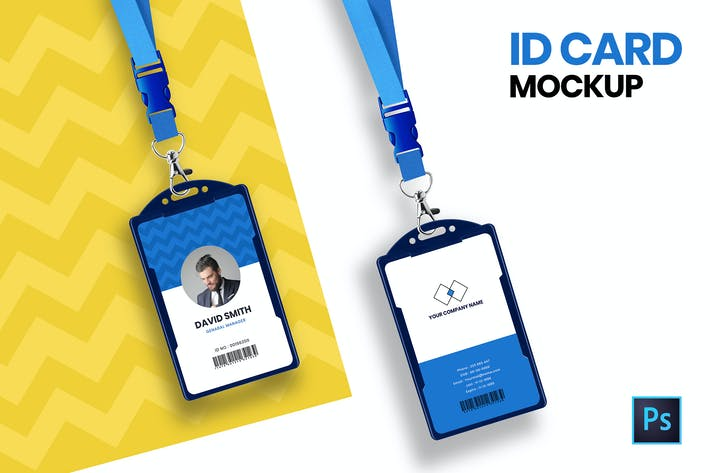 Thumbnail for ID Card Mockup