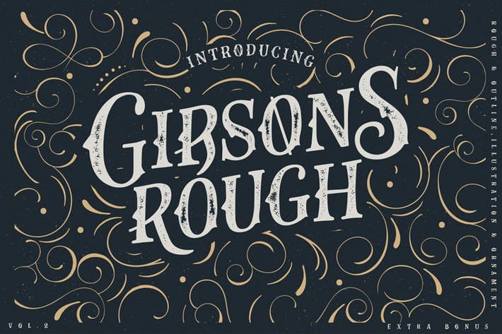 Thumbnail for Gibsons Co Typeface Vol. 2