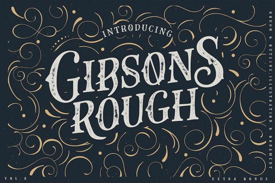 Gibsons Co Typeface Vol. 2