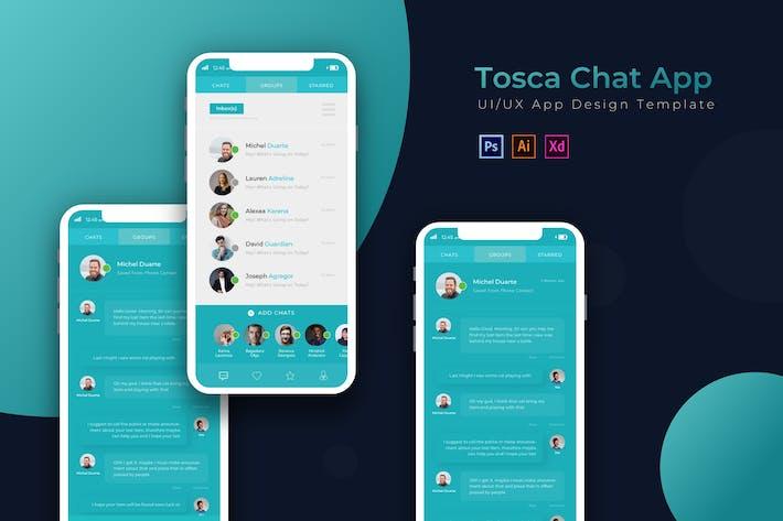 Thumbnail for Chating | Plantilla de Aplicación