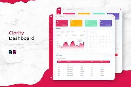 Clority | Admin Dashboard Template