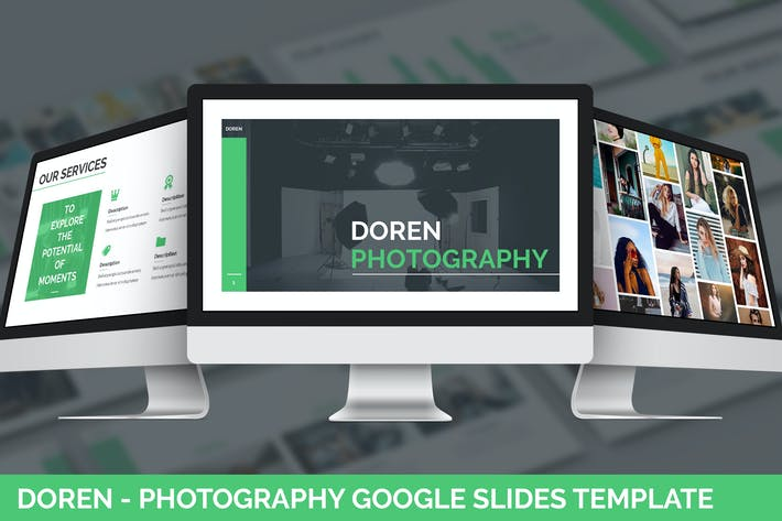 Thumbnail for Doren - Photography Google Slides Template