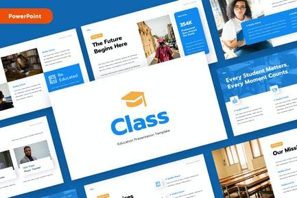 CLASS - Education Powerpoint Template