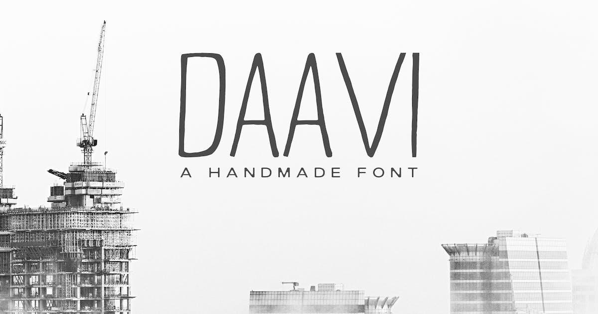 Download Daavi Handmade Sans Serif Font by creativetacos