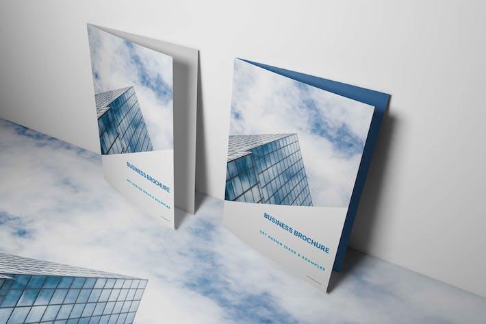 Blue Business Brochure Template