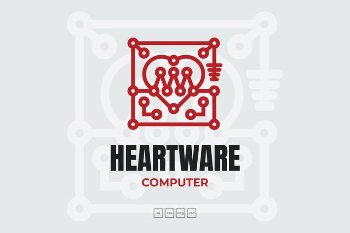 Thumbnail for Herz Computer Digitales Logo
