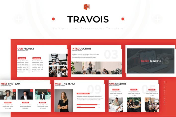 Thumbnail for Travois - Powerpoint Template