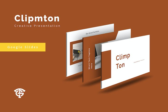 Cover Image For Climpton Creative - Google Slides