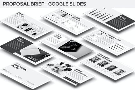 Proposal Brief Google Slides Template