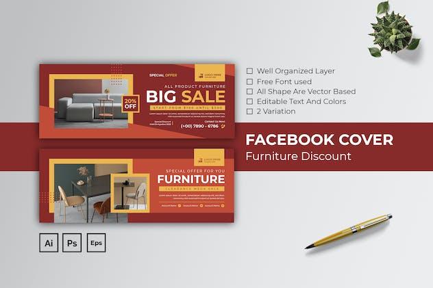 Furniture Discount Facebook Cover