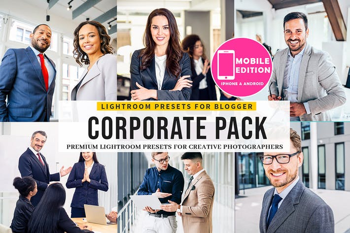 Corporate Lightroom Presets Mobile