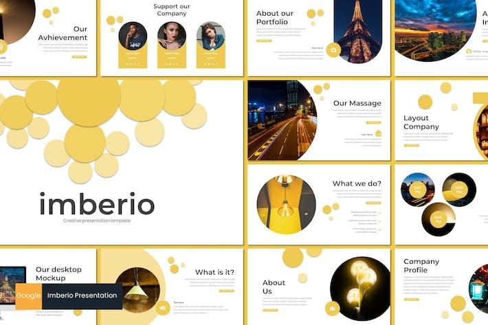 Thumbnail for Imberio - Google Slides Template