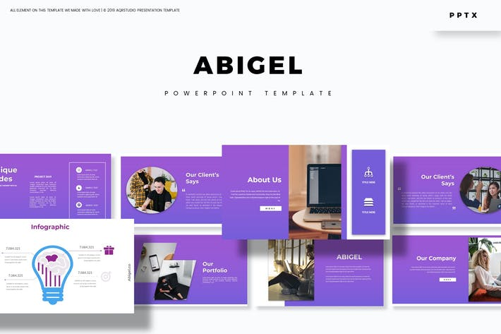 Thumbnail for Abigel - Powerpoint Template
