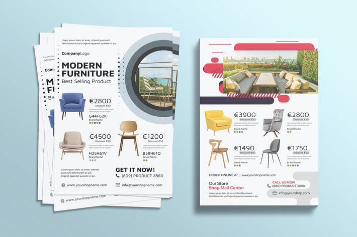 Product Flyer - Furniture Catalog