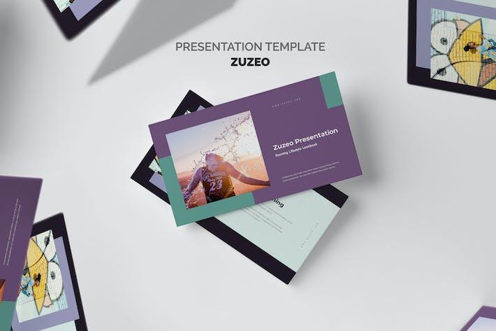Thumbnail for Zuzeo : Running Lifestyle Keynote