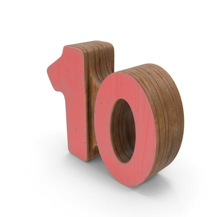 10 Wooden with Paint
