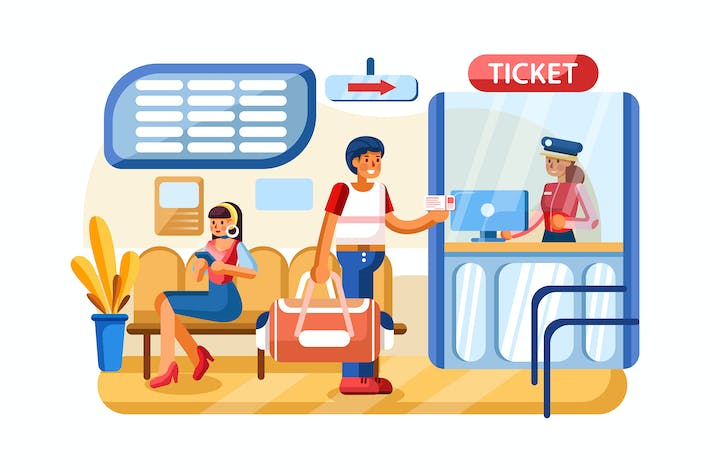 Thumbnail for Payment System vector illustration concept.