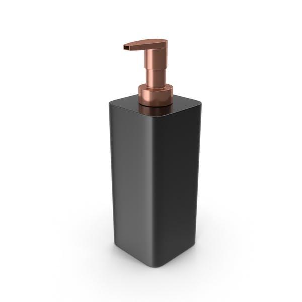 Диспенсер для мыла черный
