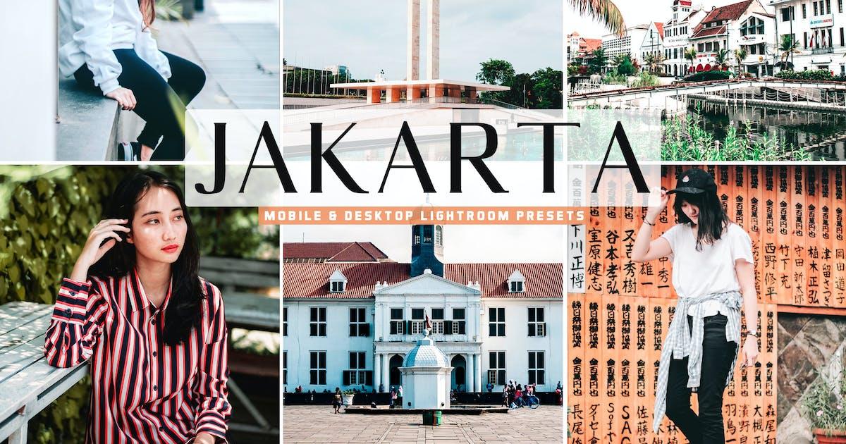 Download Jakarta Mobile & Desktop Lightroom Presets by creativetacos